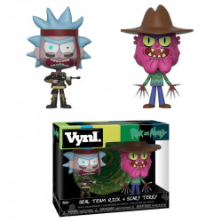 SEAL TEAM RICK AND SCARY TERRY RICK AND MORTY VYNL 2 PACK FIGURE
