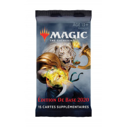 EDITION DE BASE 2020 BOOSTER MAGIC THE GATERING FRANCAIS