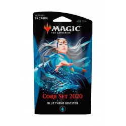 BLUE THEME BOOSTER CORE SET 2020 MAGIC THE GATHERING ANGLAIS