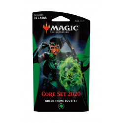 GREEN THEME BOOSTER CORE SET 2020 MAGIC THE GATHERING ANGLAIS