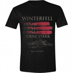 WINTERFELL GAME OF THRONES T-SHIRT SIZE MEDIUM