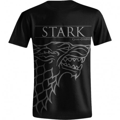 STARK HOUSE SIGIL GAME OF THRONES T-SHIRT SIZE SMALL