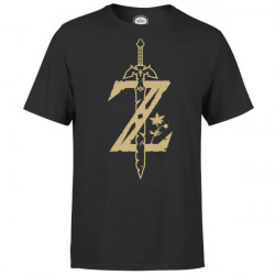 LEGEND OF ZELDA MASTER SWORD T SHIRT SIZE EXTRA LARGE