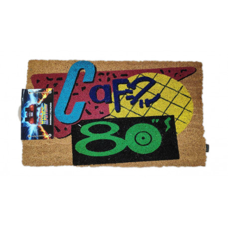 BACK TO THE FUTURE 80'S CAFE DOORMAT