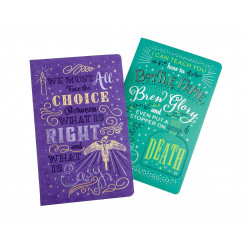 DUMBLEDORE AND SNAPE HARRY POTTER NOTEBOOK SET