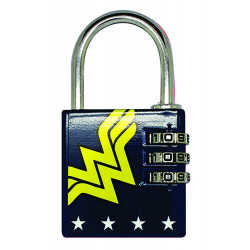 WONDER WOMAN DC COMICS BRASS PADLOCK