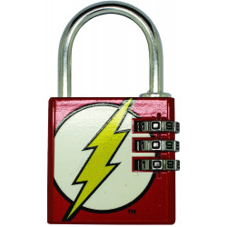 THE FLASH DCD COMICS BRASS PADLOCK