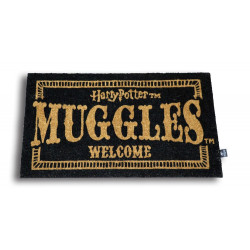 MUGGLES WELCOME HARRY POTTER DOORMAT