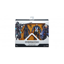 ANA SHRIKE AND SOLDIER 76 OVERWATCH ULTIMATES 2 PACK ACTION FIGURE
