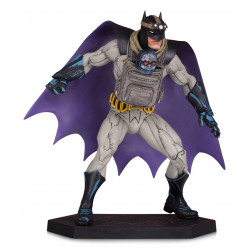 BATMAN WITH DARKSEID BABY BATMAN METAL DC COMICS STATUE