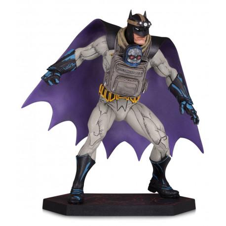 BATMAN WITH DARKSEID BABY BATMAN METAL DC COMICS STATUE