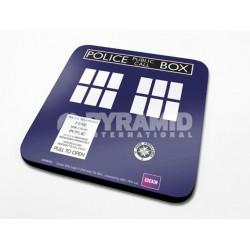 Doctor who tardis coaster album for Decoration porte tardis