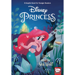 DISNEY PRINCESS HC ARIEL AND SEA WOLF YOUNG READERS