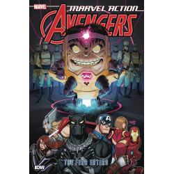 MARVEL ACTION AVENGERS TP BOOK 3 THE FEAR EATERS