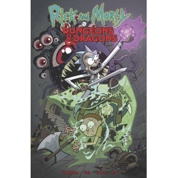 RICK AND MORTY VS DUNGEONS DRAGONS TP