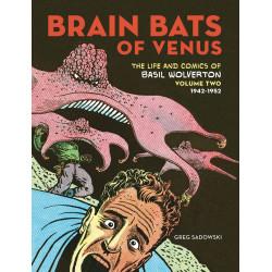 BRAIN BATS OF VENUS BASIL WOLVERTON HC VOL 2