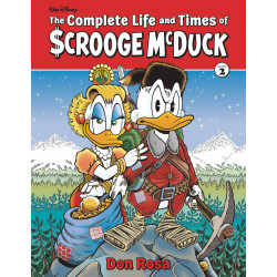 COMPLETE LIFE TIMES SCROOGE MCDUCK HC VOL 2 ROSA