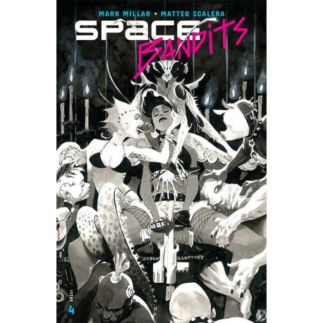 SPACE BANDITS 4 CVR B SCALERA