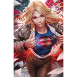 SUPERGIRL 36 CARD STOCK VAR ED YOTV
