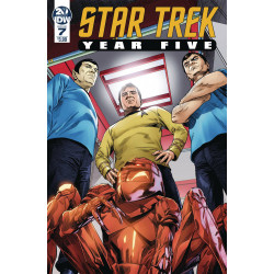 STAR TREK YEAR FIVE 7 CVR A THOMPSON