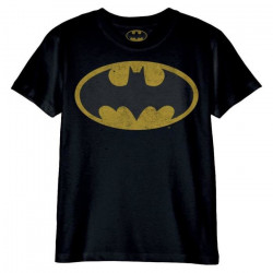 BATMAN LOGO T SHIRT SIZE LARGE