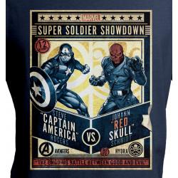 CAPTAIN MARVEL SUPER SOLDIER SHOWDOWN MARVEL T SHIRT SIZE MEDIUM