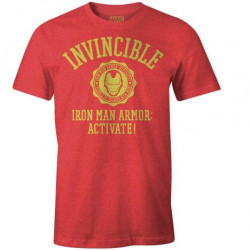 INVINCIBLE IRON MAN MARVEL T-SHIRT SIZE LARGE