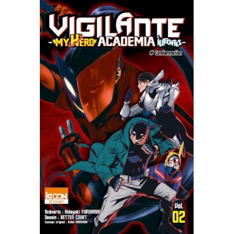 VIGILANTE - MY HERO ACADEMIA ILLEGALS T02 - VOLUME 02