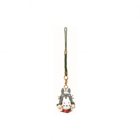 TOTORO WITH FLOWERS PHONE CHARM