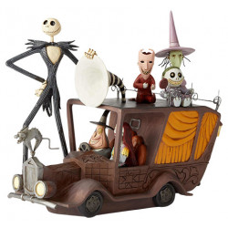 TERROR TRIUMPHANT NIGHTMARE BEFORE CHRISTMAS DISNEY TRADITIONS STATUE