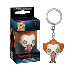 PENNYWISE FUNHOUSE IT CHAPTER TWO POCKET POP VINYL FIGURE KEYCHAIN