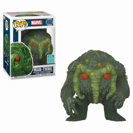MAN-THING MARVEL CONVENTION EXCLUSIVE POP! YVNIL FIGURE