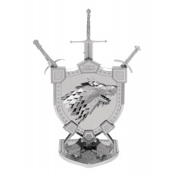 HOUSE STARK GAME OF THRONES METAL EARTH MODEL KIT