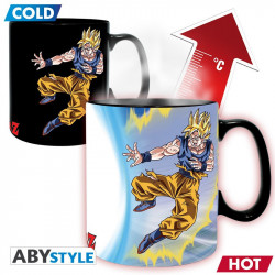 GOKU VS BUU DRAGON BALL MUG HEAT CHANGE 460 M
