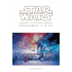 STAR WARS - INTEGRALE - EPISODES I A VI (NED)