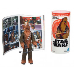 CHEWBACCA STAR WARS STORY IN A BOX ACTION FIGURE