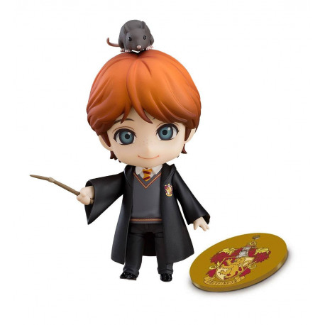 RON WEASLEY HARRY POTTER NENDOROID WITH EXCLUSIVE BASE ACTION FIGURE
