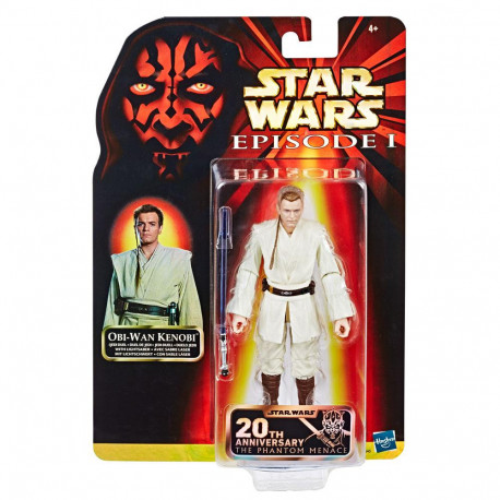 OBI WAN KENOBI STAR WARS EPISODE 1 20TH ANNIVERSARY ACTION FIGURE