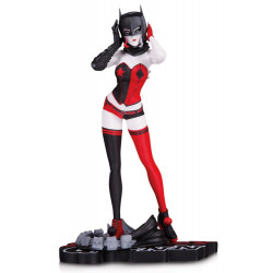HARLEY QUINN RED BLACK AND WHITE BY JOHN TIMMS RESIN STATUE