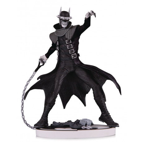 BATMAN WHO LAUGHS 2ND EDITION BLACK & WHITE DC COMICS STATUE