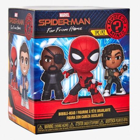 SPIDER-MAN FAR FROM HOME MARVEL MINI MYSTERY FUNKO VINYL FIGURE BLIND BOX