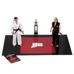 RETRO TOURNAMENT KARATE KID PACK 2 FIGURINES 20 CM