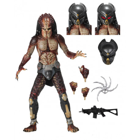 FUGITIVE PREDATOR (LAB ESCAPE) PREDATOR 2018 FIGURINE ULTIMATE 20 CM