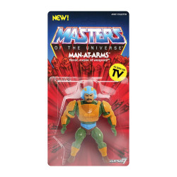 MAN-AT-ARMS MASTERS OF THE UNIVERSE SERIE 2 FIGURINE VINTAGE COLLECTION 14 CM
