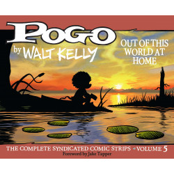 POGO COMP SYNDICATED STRIPS HC VOL 5 OUT WORLD HOME