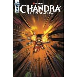 MAGIC THE GATHERING CHANDRA TRIALS OF ALARA 4 CVR A KODA