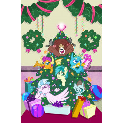 MY LITTLE PONY HOLIDAY SPECIAL 1 CVR B FORSTNER