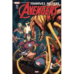 MARVEL ACTION AVENGERS 11 FIORITO