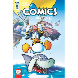 DISNEY COMICS AND STORIES 8 CVR A FRECCERO