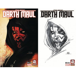 DARTH MAUL 1 VAR CVRS A B SET MICHAEL TURNER
